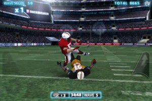 backbreaker football tackle