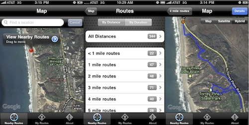 Have Your iPhone Tell You Where To Jog With WalkJogRun