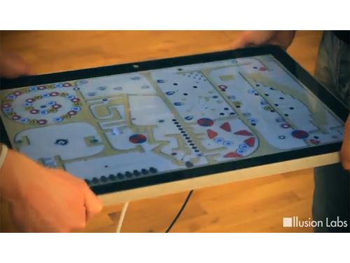 "Illusion Labs Demos Labyrinth 2 On The ""bigPad"""