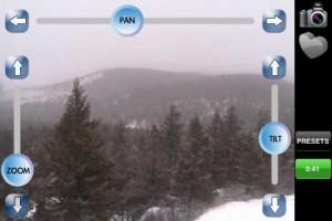 Pan/Tilt/Zoom Controls