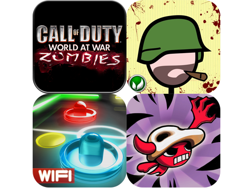 Call Of Duty: World At War: Zombies, Glow Hockey, Hellkid, And Doodle Army Reviews Get Updated