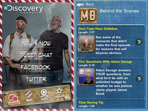 MythBusters Gets An Official iPhone App