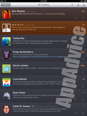 twitterrific2 Twitterrific for iPad Will Be Ready Day 1   Plus Screenshots