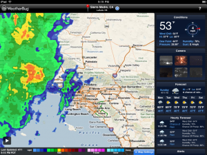 WeatherBug Elite for iPad by WeatherBug screenshot