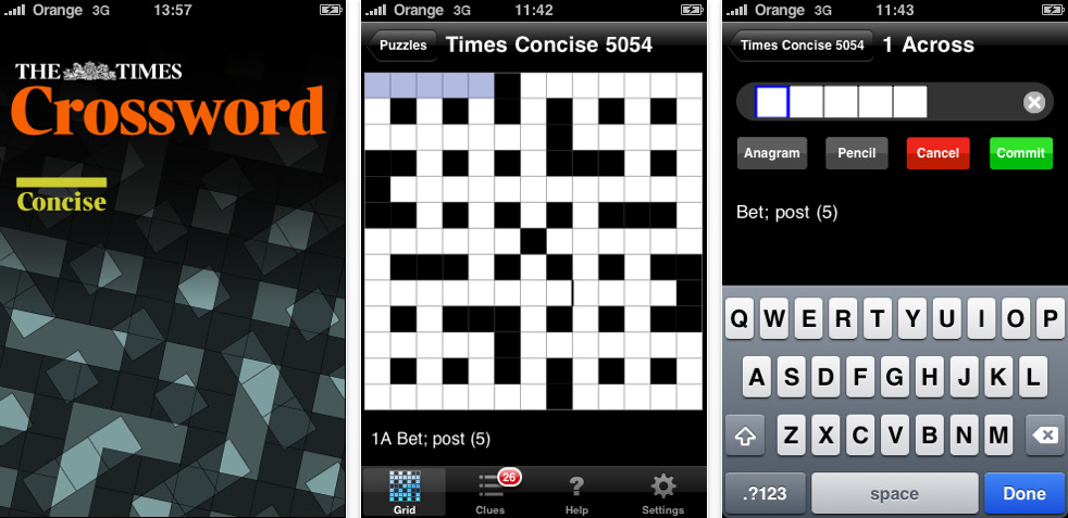 QuickAdvice: The Times Concise Crossword