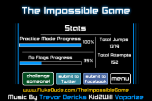 The Impossible Game by FlukeDude screenshot