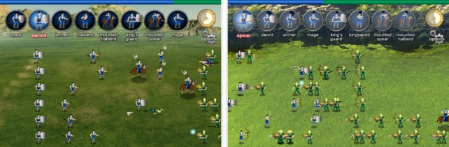 New Strategy Game For iPhone - Warlords: Call To Arms