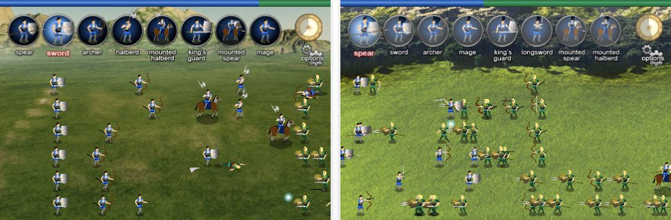 Strategy Game For iPhone - Warlords: Call To Arms