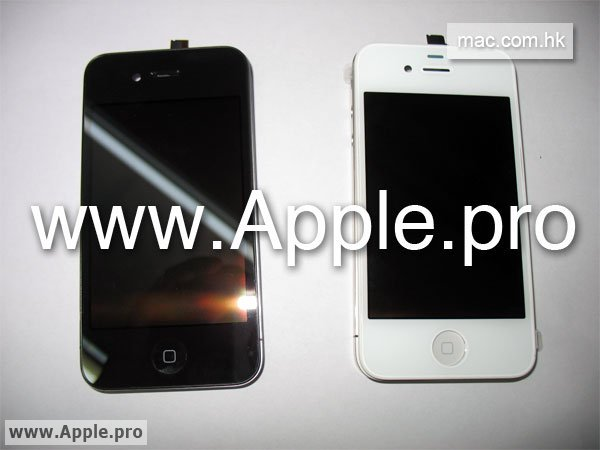 2 201005230953211 Leaked White iPhone HD Hits The Web?