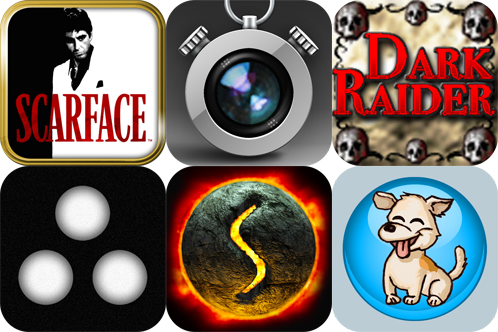 iPhone And iPad Apps Gone Free: Scarface Last Stand, iTimeLapse Pro, Dark Raider, And More