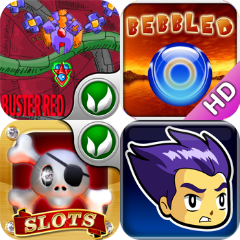 Games To Download For Free: Bebbled HD, Buster Red, Castle Fantasy, And Crazy Pirate Slots