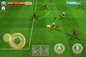 Real Soccer 2010 by Gameloft screenshot