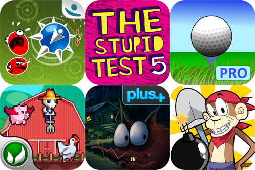 iPhone Apps Gone Free: Tilt To Live, The Stupid Test 5, Golf Radar Pro, And More