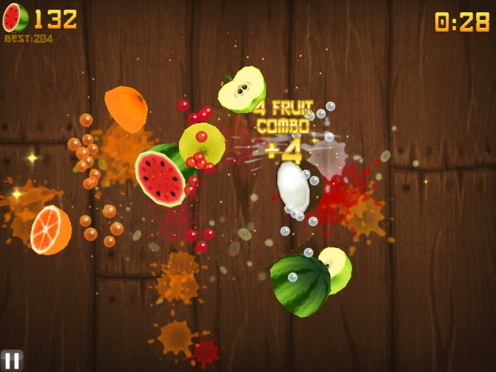 Fruit Ninja HD 2011 Portable Free MediaFire Download Link Game screenshot 2
