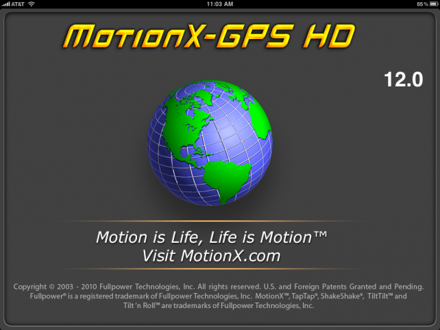 Review: MotionX GPS HD