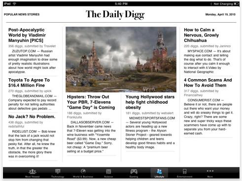 Screen shot 2010 07 17 at 09.41.05 Daily Digg iPad App