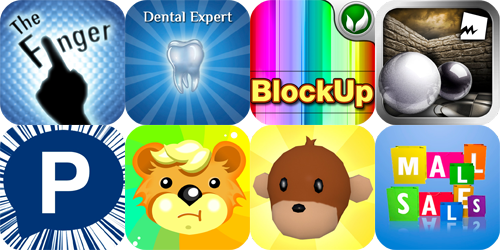 iPhone And iPad Apps Gone Free: The Finger!, Dental Expert, Marbles Multiball 3D And More