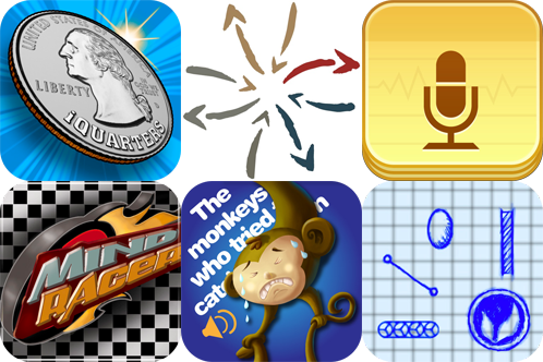 iPhone And iPad Apps Gone Free: iQuarters, Audio Memos 2, Sideways And More