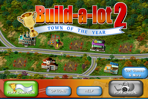 Build-a-Lot 2 Town of the Year, the sequel to Glus original hit