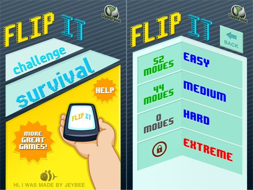 Hands-On Preview Of Flip It, An Upcoming Gyroscope Party Game For iPhone 4