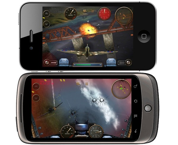 Skies Of Glory Online Multiplayer Takes iPhone Versus Android To The Next Level