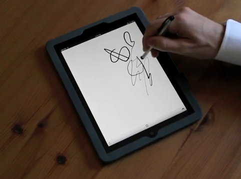 Ten One Design Demonstrates Pressure-Sensitive Sketching On The iPad