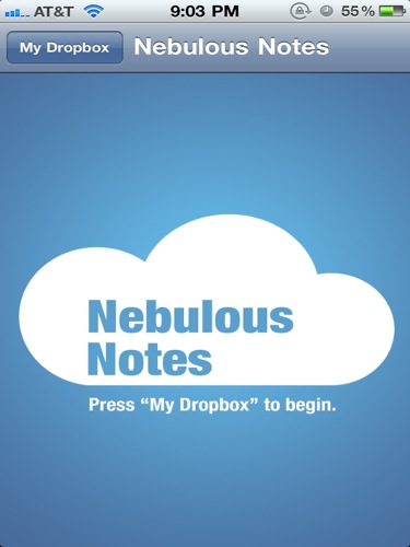 ... : Manage Text-Only Dropbox Files with Nebulous Notes -- AppAdvice