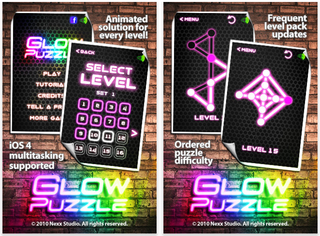 Glow Puzzle Released, Free Neon Enigmas Await You In The App Store