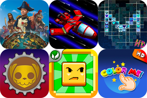 iPhone And iPad Apps Gone Free: Civilization Revolution, Tunnel Shoot, MosaicFacebook And More