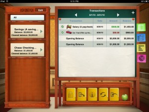 Checkbook for iPad (with Sync) by iBear LLC screenshot