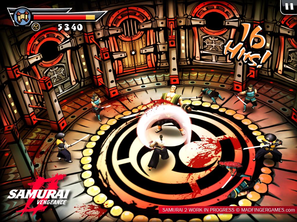 لعبة القتال Samurai Vengeance بحجم ميجا )),بوابة 2013 samurai2ipad_screen2