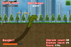 HugeWorm by EdisonGame screenshot