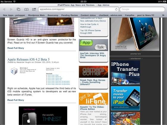 appadvice1 Apple Releases iOS 4.2 Beta 3