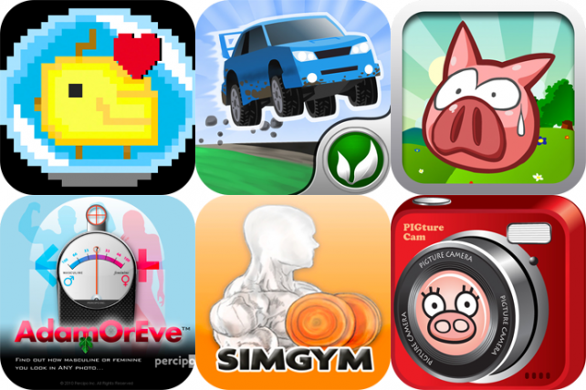 iPhone And iPad Apps Gone Free: Bubble Pets!, Cubed Rally Racer, Pig Shot, And More