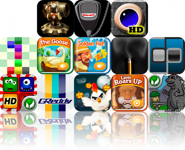 iPhone And iPad Apps Gone Free: Ragdoll Blaster 2, SirenBox, Crazy Labyrinth HD, And More