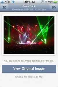 Droplr by Culturezoo LLC screenshot