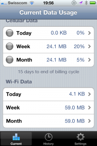 DataMan - Monitor & Geotag Your Data Usage by XVision screenshot