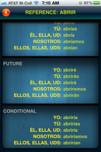 Spanish Touch Trainer by Appocado screenshot