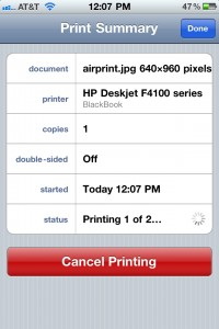 airprint iph4 screen2large 200x300 Talk About A Mobile Office: AirPrint To The Rescue