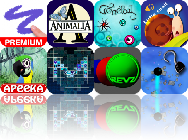 iPhone And iPad Apps Gone Free: Doodle Buddy, Animalia, Gene Pool, And More