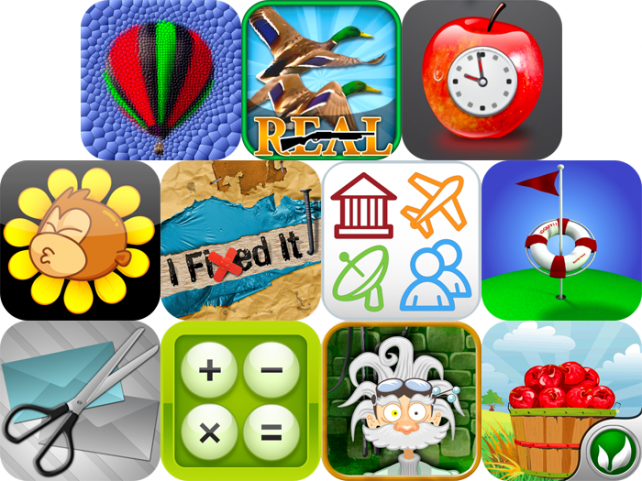 iPhone And iPad Apps Gone Free: MosaicArtist, Real Bird Hunting Challenge, iSpoil, And More