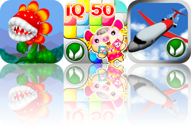 iPhone And iPad Apps Gone Free: Plant Link, FlatCube 50, And Airport One