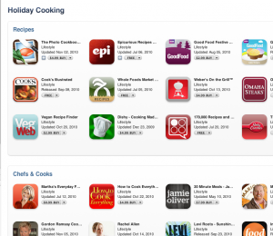 foods 300x260 App Store Profiles The Many Cooking Apps