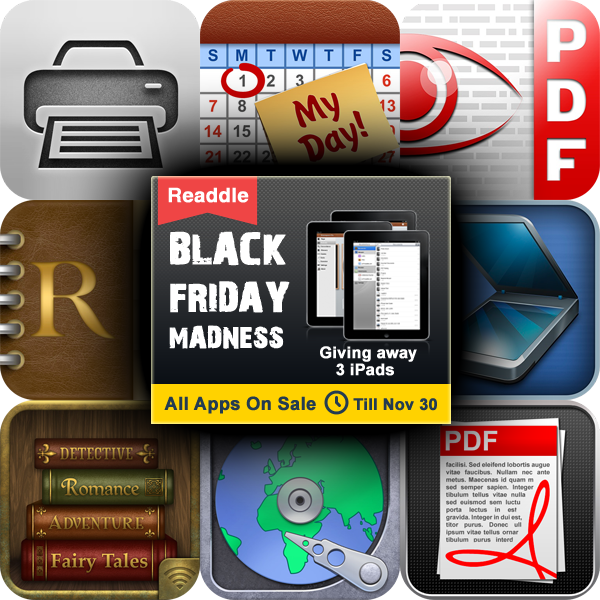 Readdle Starts The Holiday Celebration Early With A Sale And iPad Giveaway