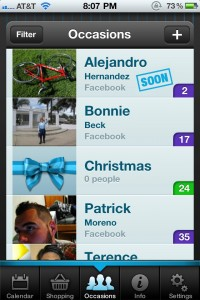 Gift Plan by Glasshouse Apps screenshot