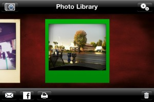 Polaroid Digital Camera App by LoL Software screenshot