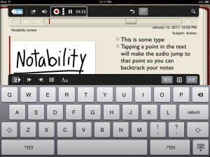 Notability by Ginger Labs screenshot