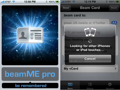 BeamME Pro 3.0 Update Adds Peer-To-Peer Beaming, Subscription Service