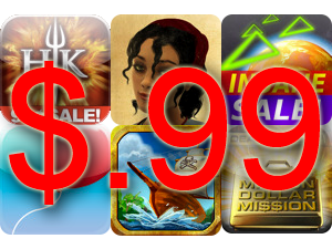 Lots Of Great Games On Sale This Weekend For Only $.99
