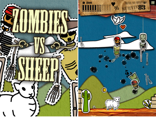 Zombies Vs. Sheep Hits App Store, Protect Your Sheep At All Costs